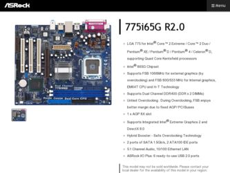 Asrock 775i65g drivers Video Windows 7 zip - Libro Rompiendo Los