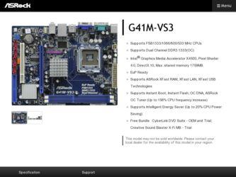 G41m Vs3 Lan Driver