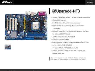 DOWNLOAD DRIVER K8UPGRADE-NF3