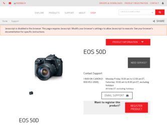 Canon Eos 50d Driver Download