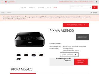 canon pixma mg5420 drivers download