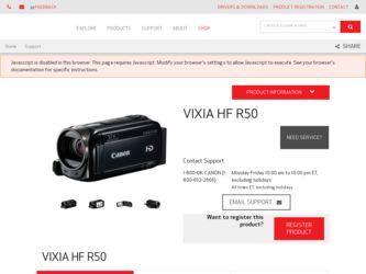 canon vixia hf r500 manual