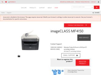 CANON IMAGECLASS MF4150 BASIC MANUAL Pdf Download
