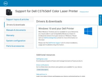 Dell C3765dnf Driver Related Keywords & Suggestions - Dell C3765dnf