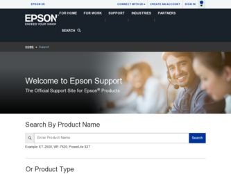 WorkForce 600 driver download page on the Epson site