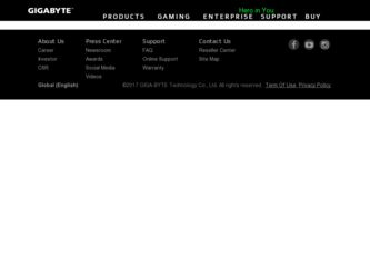 GA-8S648FX-775 driver download page on the Gigabyte site