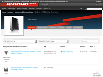 lenovo ideacentre driver download