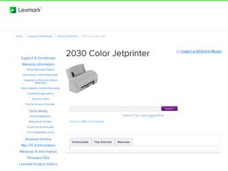 Lexmark Z735 Mac Driver