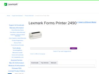 Lexmark Forms Printer 2400 Driver Windows 8