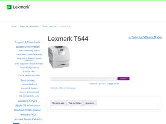 Lexmark t640 printer download instruction manual pdf.