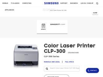 samsung clp 300 color laser printer driver and firmware downloads. Black Bedroom Furniture Sets. Home Design Ideas
