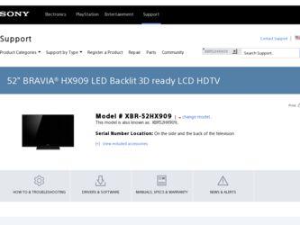 sony bravia led tv manual pdf
