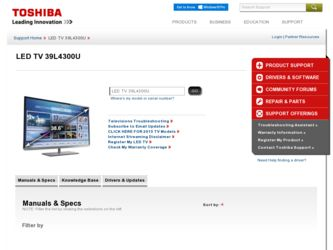 toshiba 39l4300u manual rh toshiba 39l4300u manual milesfiles de Toshiba TV Owners Manual toshiba 39l4300 manual