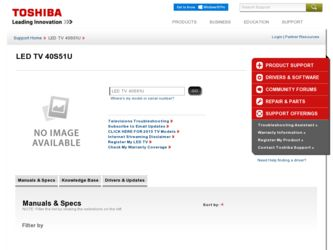 40s51u driver download page on the toshiba site