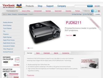 Viewsonic Pjd6211 Xga Dlp Projector Driver And Firmware border=