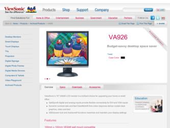 Viewsonic vg730m